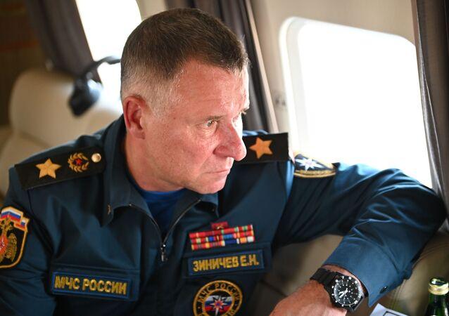 Evguéni Zinitchev, chef du ministère russe des Urgences