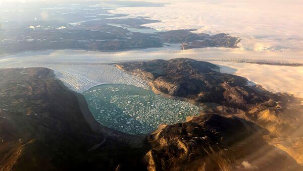 Groenland: fonte des glaciers  - Sputnik France