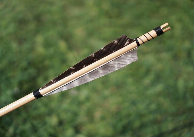Une flèche (image d'illustration)
