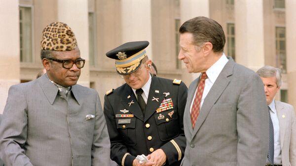 Mobutu Sese Seko en 1983 - Sputnik France
