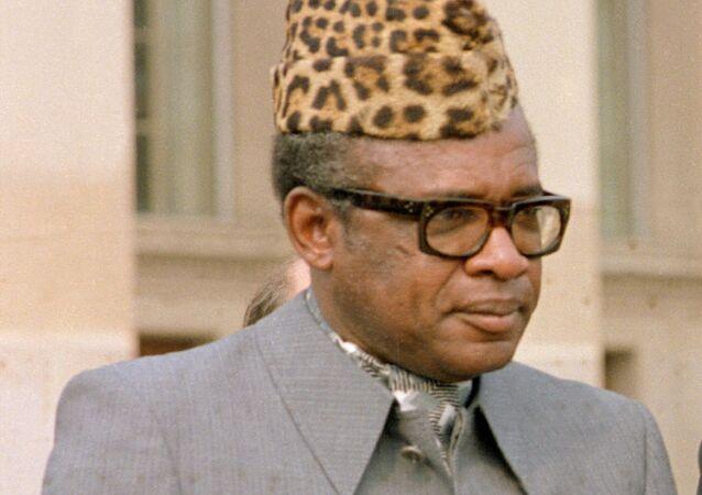 Mobutu Sese Seko en 1983