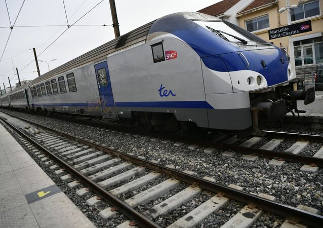 Un TER à la gare Saint-Charles, à Marseille, le 3 avril 2018