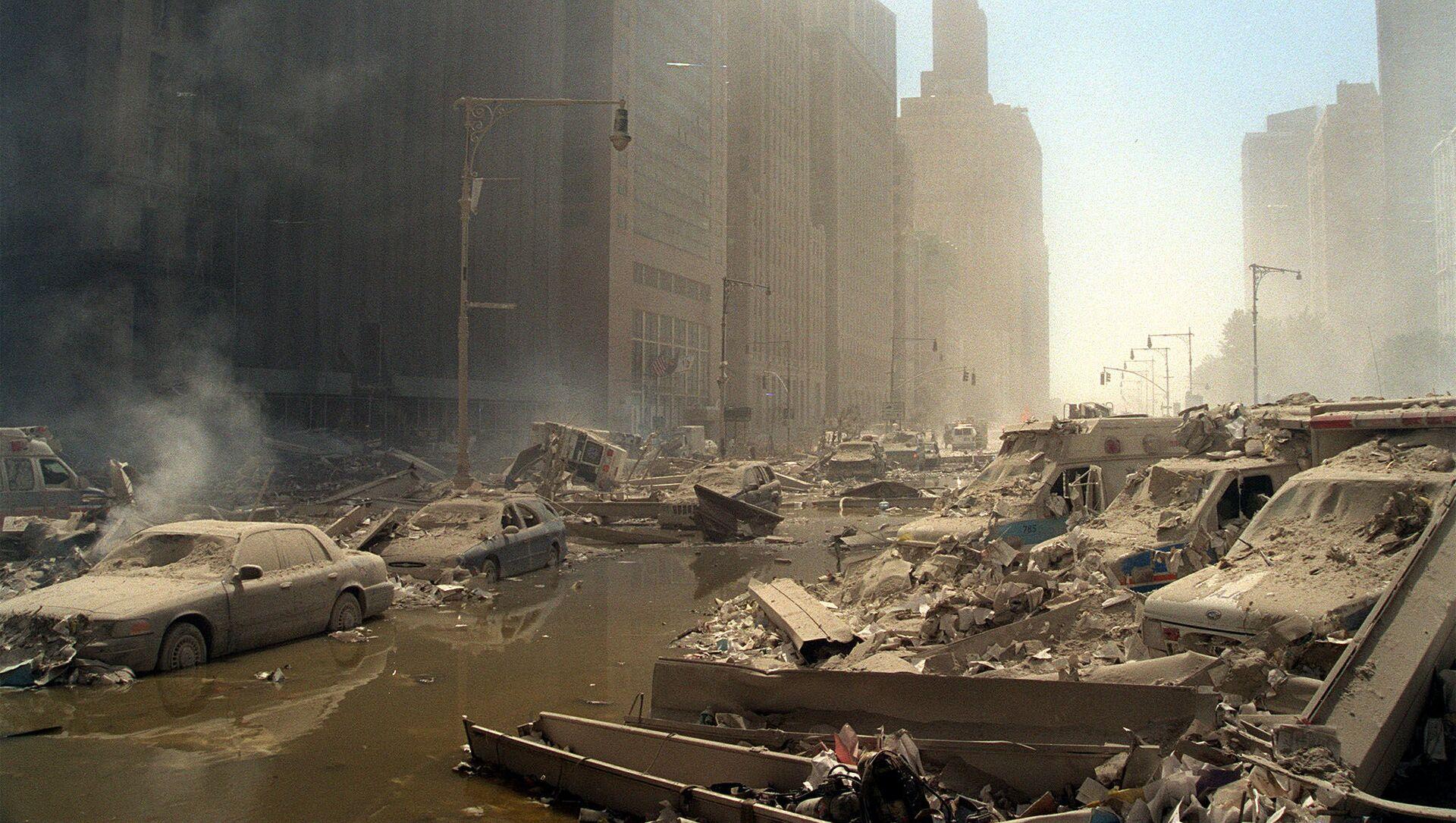 Les attentats du 11-Septembre (photo d'archives) - Sputnik France, 1920, 12.09.2021