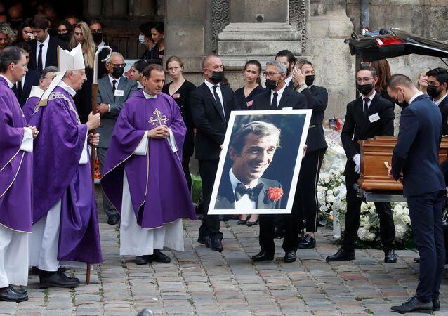 La France a dit adieu à Jean-Paul Belmondo