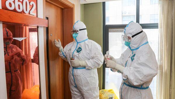 Le personnel médical dans la province chinoise du Jiangsu - Sputnik France