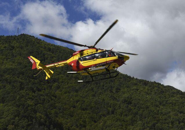 Un hélicoptère de la Sécurité civile (image d'illustration)