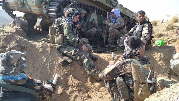 Afghanistan: soldats du Front national de résistance au Panchir  - Sputnik France