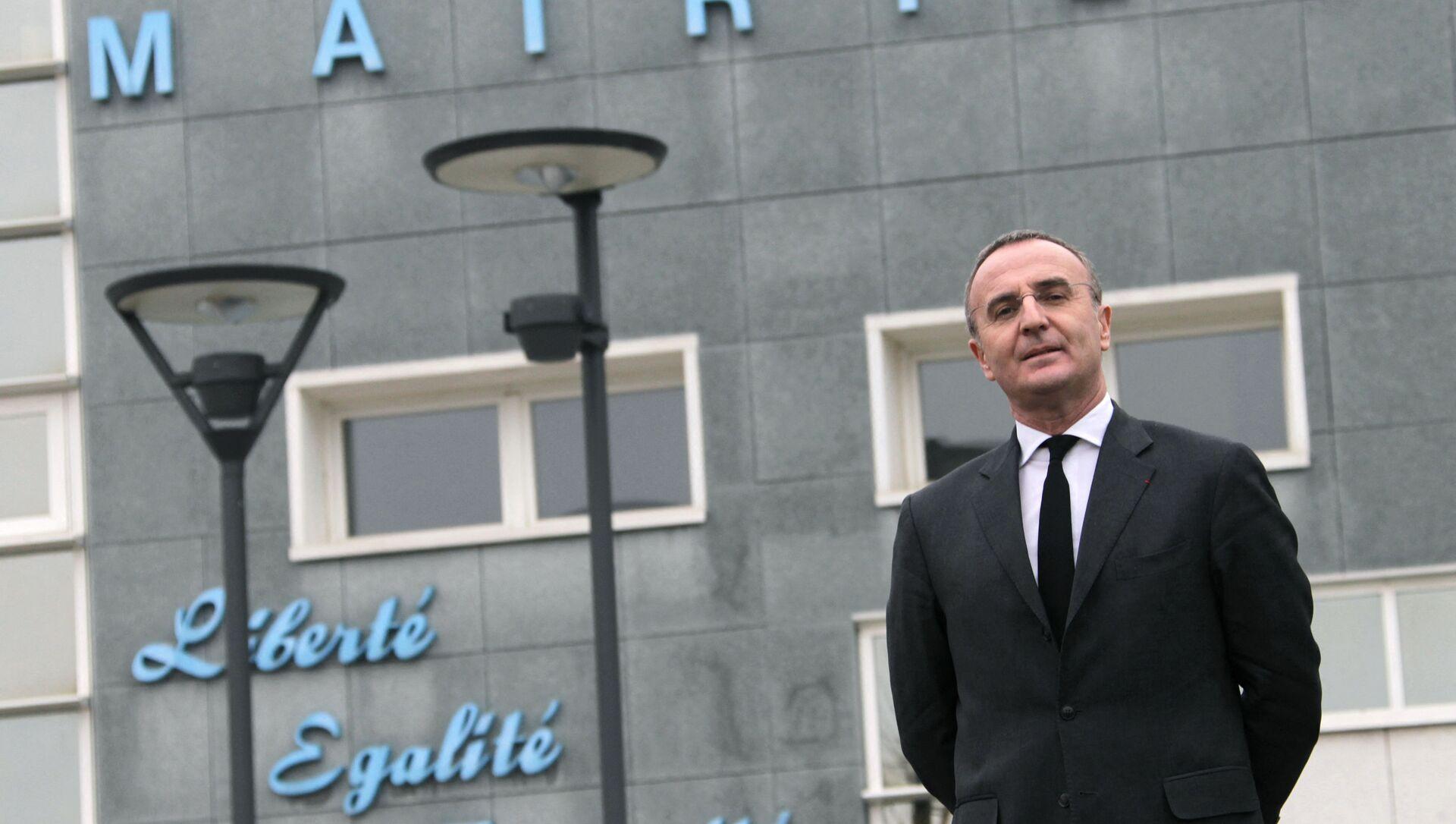 Marc-Antoine Jamet, maire PS de Val-de-Reuil - Sputnik France, 1920, 13.09.2021