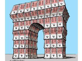 L'Arc de Triomphe empaqueté pour un coût de 14 millions d'euros