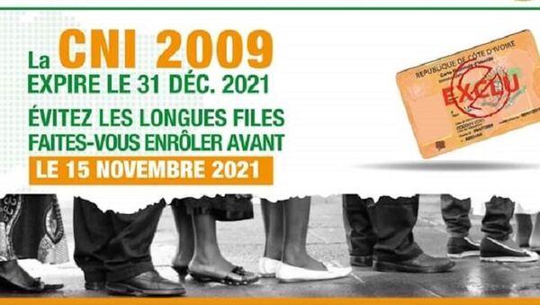 Campagne d'incitation à l'enrôlement des citoyens ivoiriens - Sputnik France