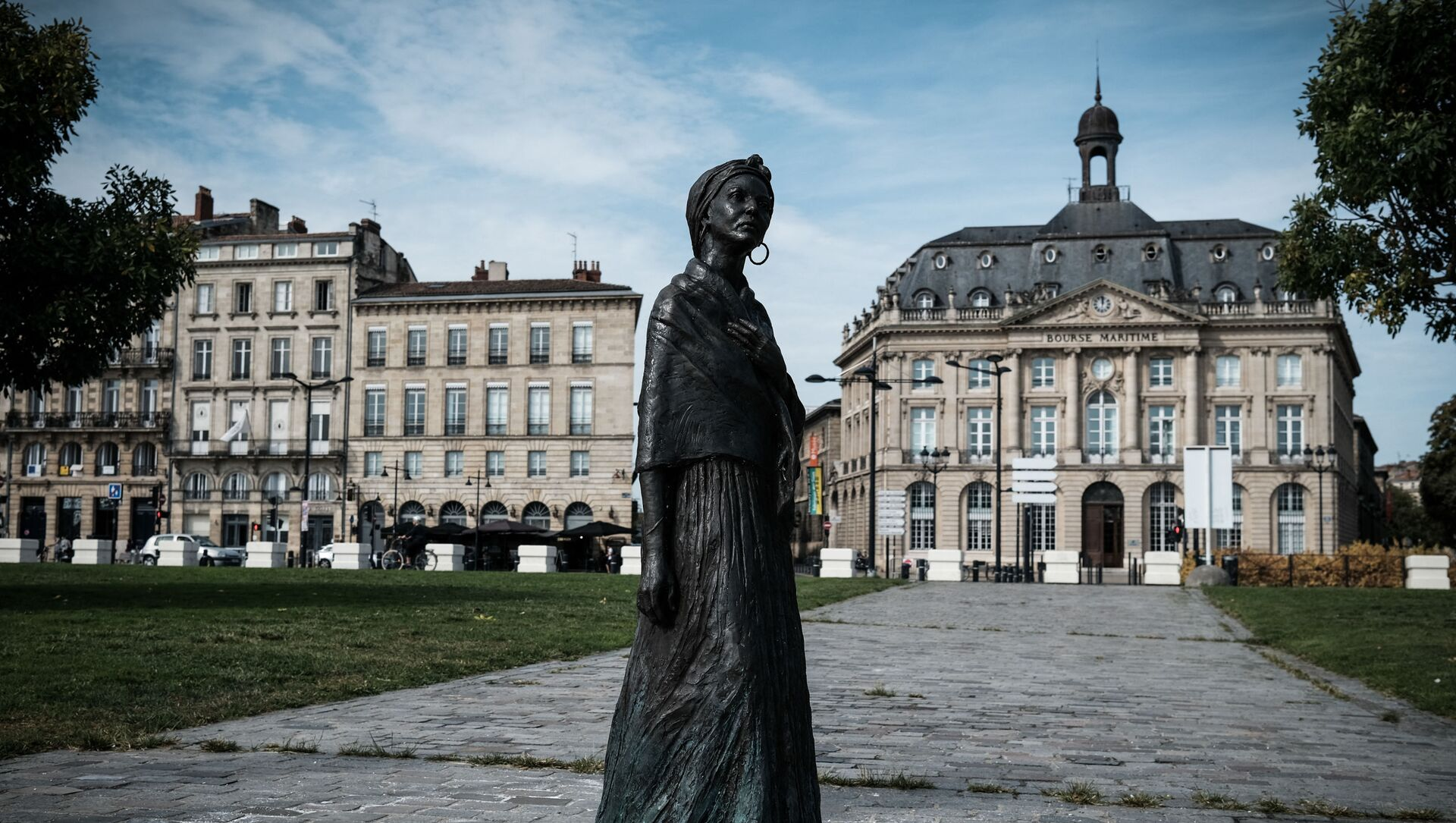 La statue de Modeste Teste créée par le sculpteur Caymitte Woodly ou Filipo, érigée à Bordeaux. Le 13 septembre 2021 - Sputnik France, 1920, 15.09.2021