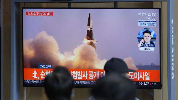 «Activités de défense»: la sœur de Kim Jong-un défend les nouveaux tirs de missiles - Sputnik France