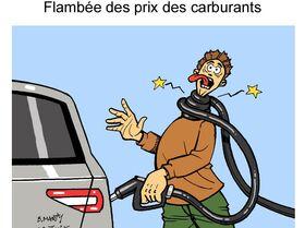 Flambée des prix des carburants