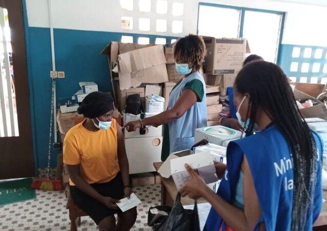 Opération de vaccination au centre de santé d'Adakpamé