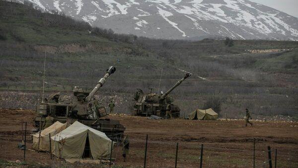 Les forces de Tsahal dans les hauteurs du Golan le 27 janvier 2015 - Sputnik France