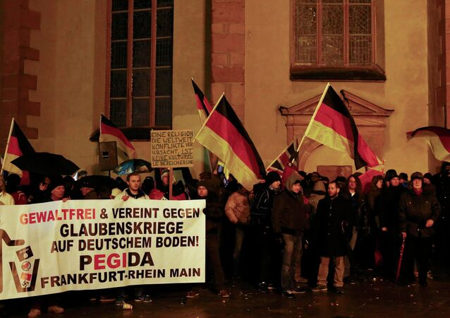 Manifestation du mouvement anti-islam Pegida