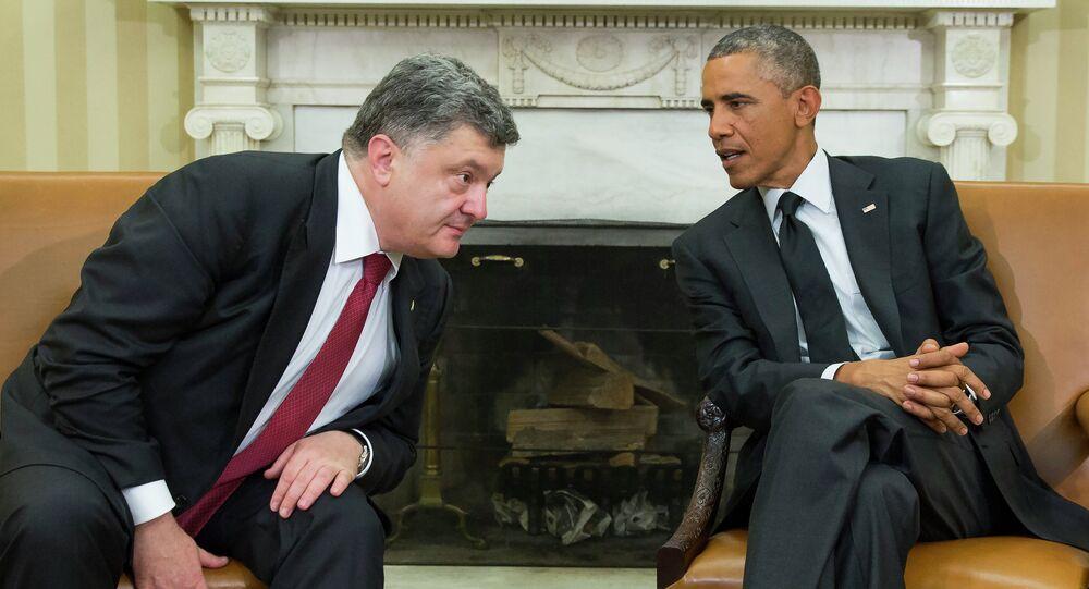 Piotr Porochenko et Barack Obama