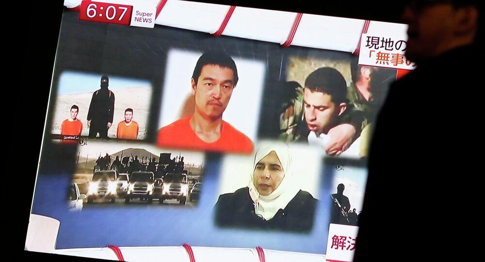 L'EI menace d'exécuter un pilote jordanien (TV)