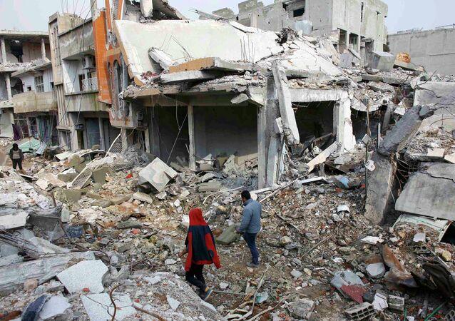 La ville syrienne de Kobané.
