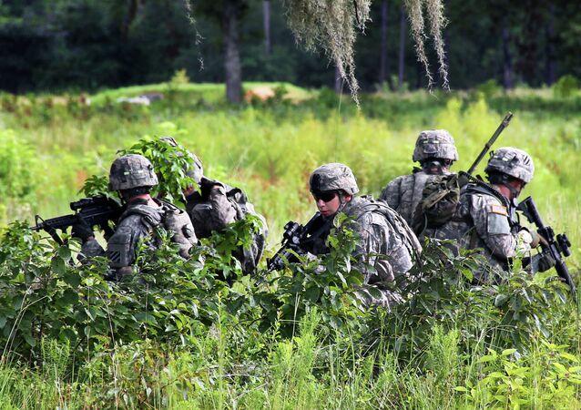 Unité la 3e Division d'Infanterie de l'armée américaine (Archives)