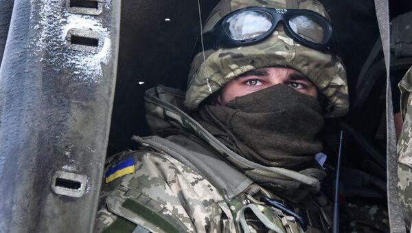 Un militaire ukrainien - Sputnik France