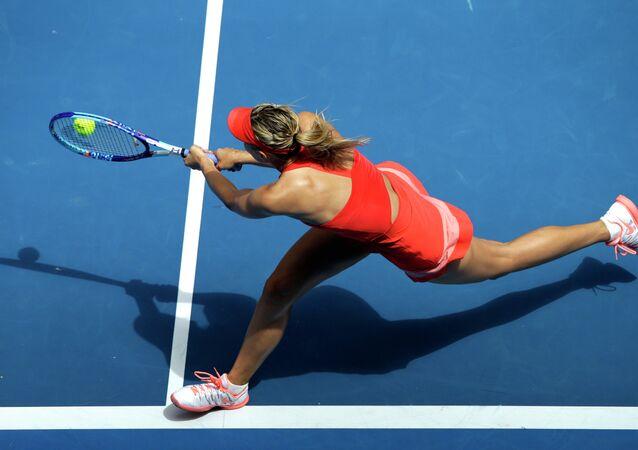 Open d'Australie: Sharapova à un pas de la victoire