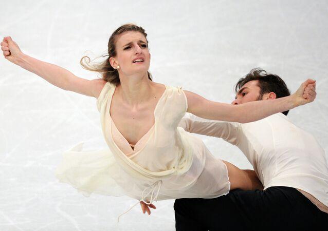 Gabriella Papadakis et Guillaume Cizeron ont sacrés en danse sur glace