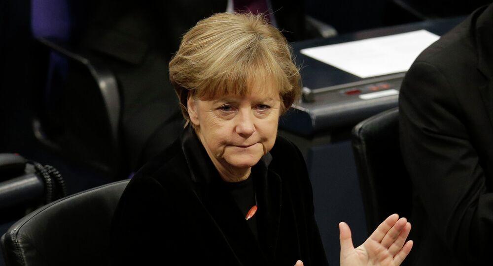 Chancelière d'Allemagne Angela Merkel