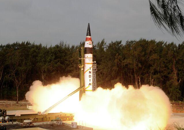Fusée indienne Agni-V