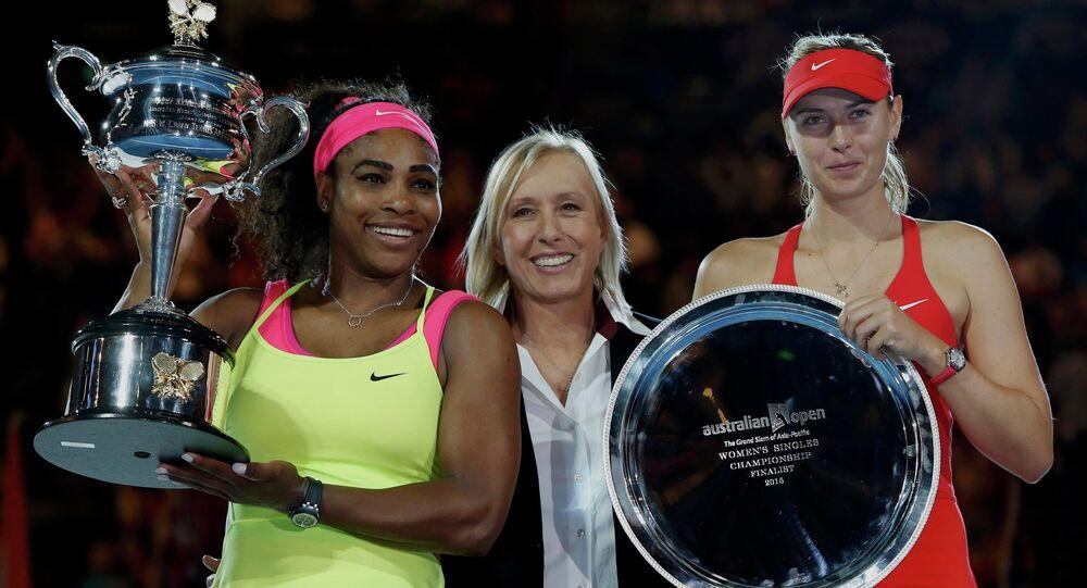 Open d'Australie: Serena Williams bat Sharapova en finale