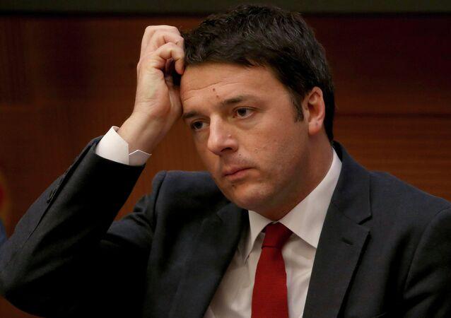 Le président italien accepte la démission de Matteo Renzi