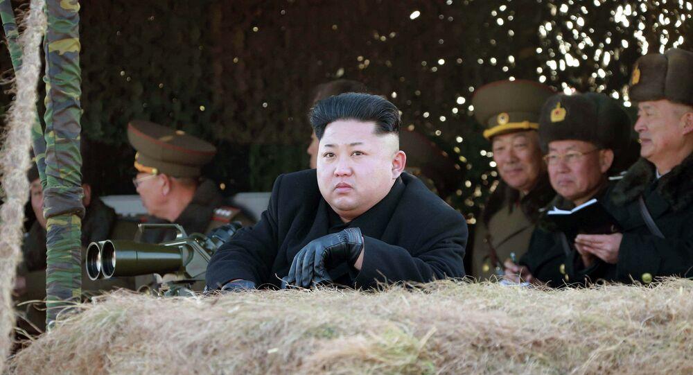 Dirigeant nord-coréen Kim Jong Un