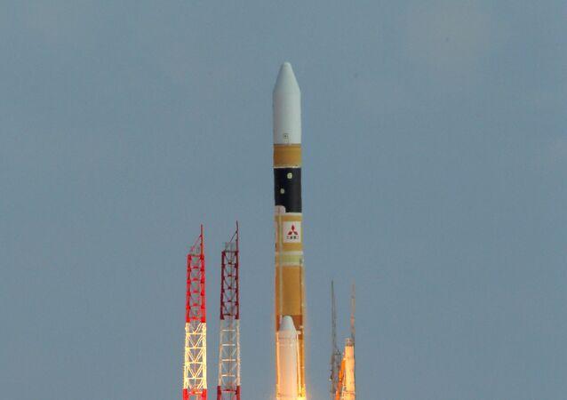 Lanceur japonais H-2A transportant un satellite-espion