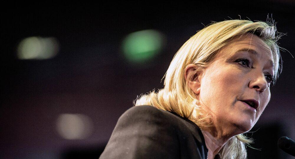 Marine Le Pen, la présidente du Front national