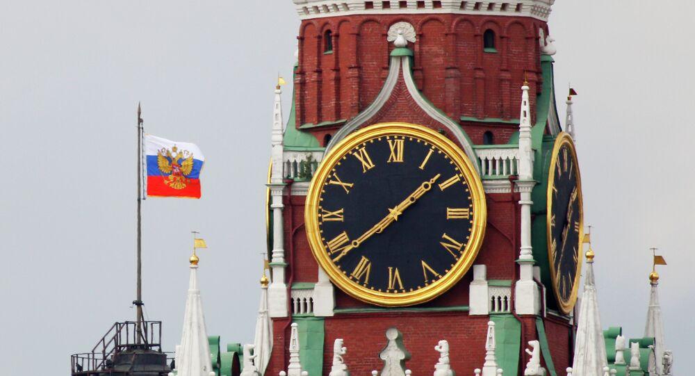 La tour Spasskaïa du Kremlin