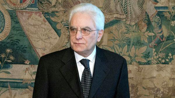 Italy's new President Sergio Mattarella - Sputnik France