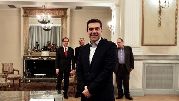 Syriza's leader Alexis Tsipras - Sputnik France