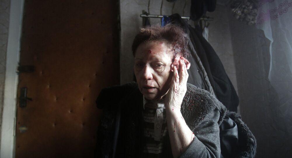 Une habitante de Debaltsevo (archives)