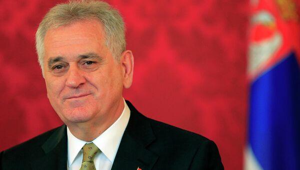 Tomislav Nikolic, président de la Serbie - Sputnik France