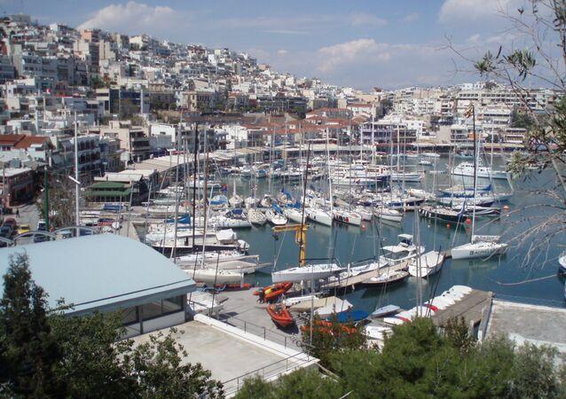 Le port grec du Pirée