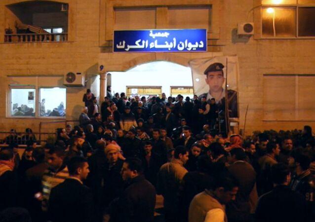 Les habitants d'Amman manifestent contre la terreur