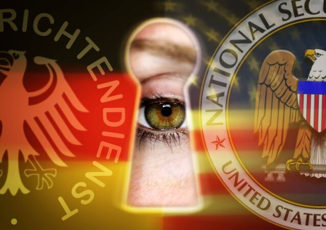 Symboles de la NSA et du BND