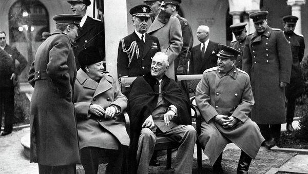 Il y a 70 ans s'ouvrait la conférence de Yalta - Sputnik France