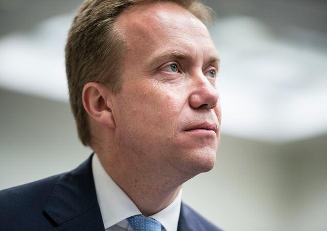 Le ministre norvégien des Affaires étrangères Børge Brende