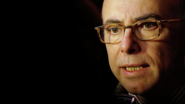 French Interior minister Bernard Cazeneuve speaks to the media following an incident where man ploughed a van into a crowded Christmas market in Nantes December 22, 2014 - Sputnik France