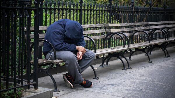 Безработный и бездомный в США - Sputnik France
