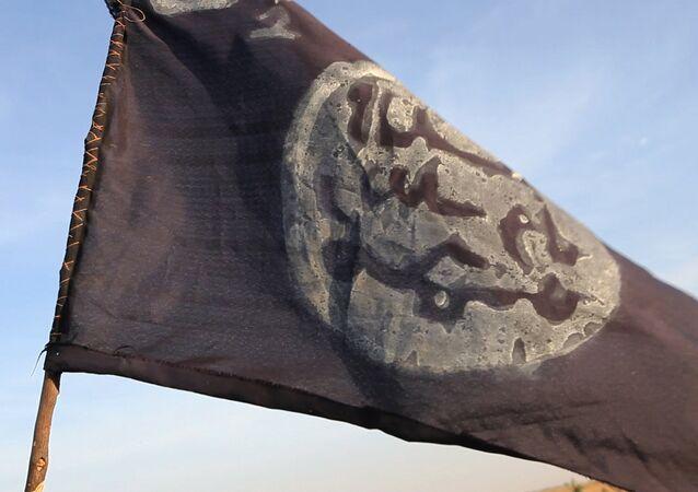 Le drapeau du groupe Boko Haram