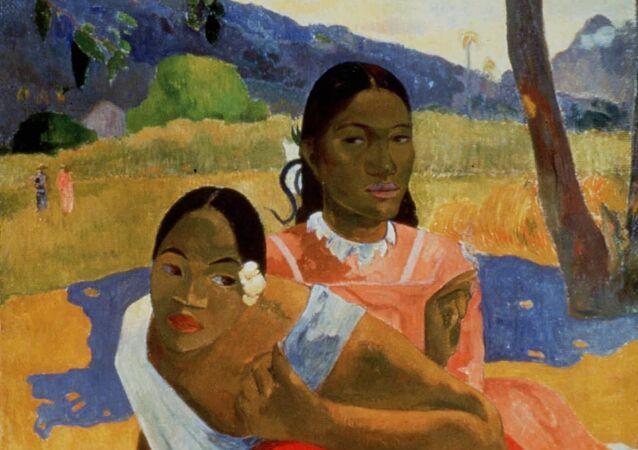 Le tableau Nafea Faa Ipoipo (Quand vous marierez-vous?) de Paul Gauguin