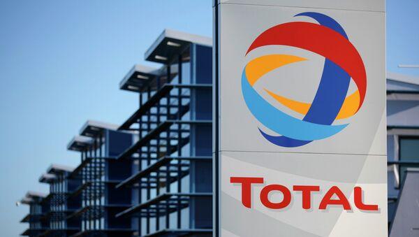 Logo du géant pétrolier français Total - Sputnik France