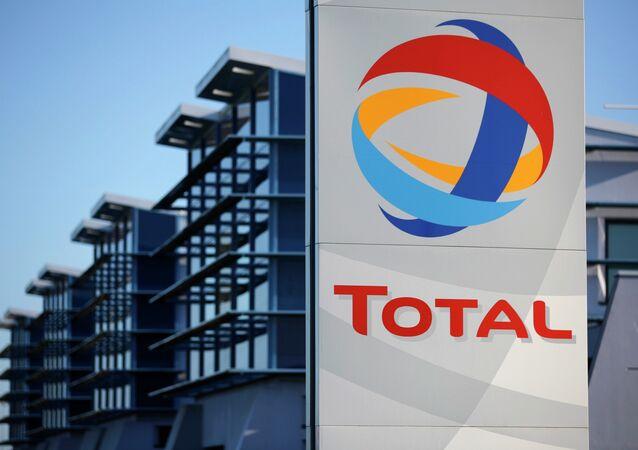 Logo du géant pétrolier français Total